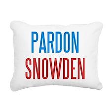 Pardon Snowden Rectangular Canvas Pillow
