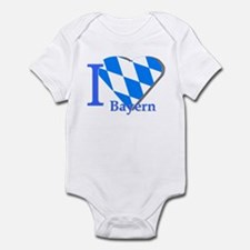 I love Bayern Infant Bodysuit