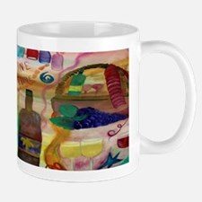 Wine Time Art Mug