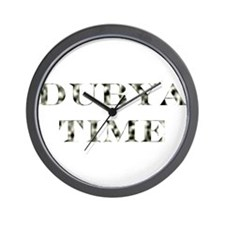 """Dubya Time"" (Wall Clock )"