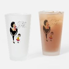 Diva Big and Small Drinking Glass