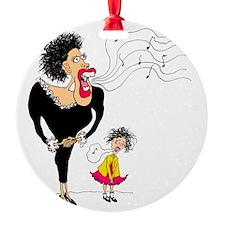 Diva Big and Small Ornament