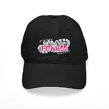 big logo- black background Baseball Hat