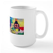 Grape Escape Wine art Mug