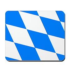 Bavarian flag (oktoberfest ) Mousepad
