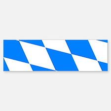 Bavarian flag (oktoberfest ) Bumper Bumper Bumper Sticker
