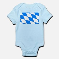 Bavarian flag (oktoberfest ) Infant Bodysuit