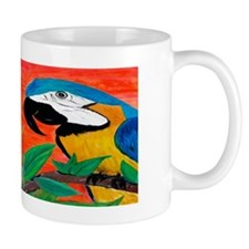 parrot heads Mug