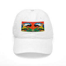 parrot heads Baseball Cap