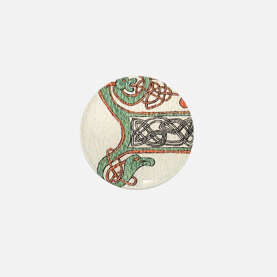 Celtic Artwork Detail Mini Button
