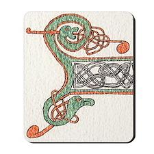 Celtic Artwork Detail Mousepad