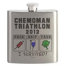 Chemoman Triathlon 2012 Flask