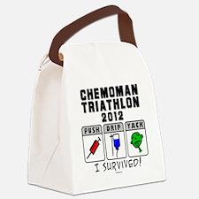 Chemoman Triathlon 2012 Canvas Lunch Bag
