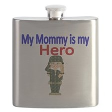 My Mommy is my Hero Flask