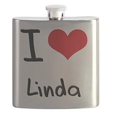 I Love Linda Flask