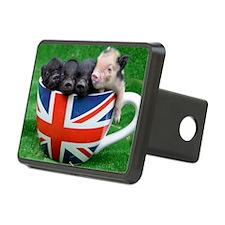Tea Cup Piggies Hitch Cover
