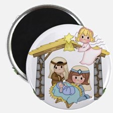 Childrens Nativity Magnet