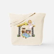 Childrens Nativity Tote Bag