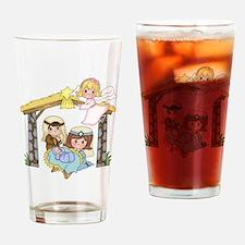 Childrens Nativity Drinking Glass