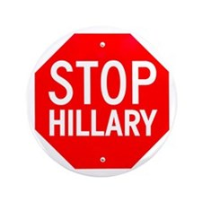 "Stop Hillary 3.5"" Button"
