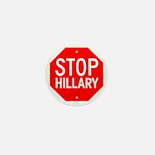 Stop Hillary Mini Button