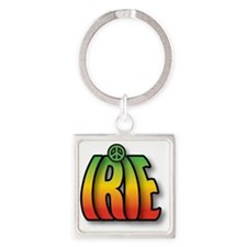 IRIE PEACE Square Keychain