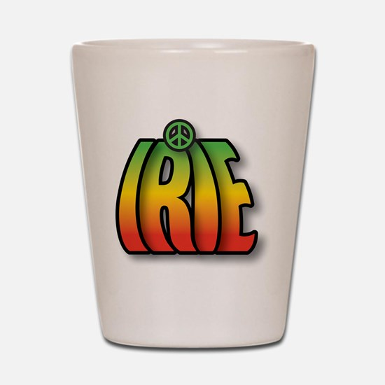 IRIE PEACE Shot Glass