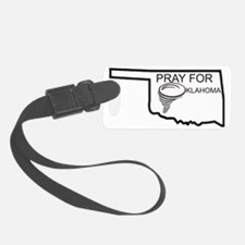 Pray For Oklahoma Luggage Tag