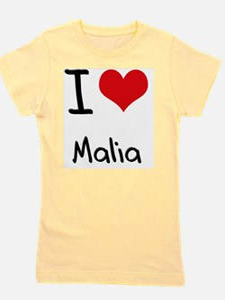 I Love Malia Girl's Tee