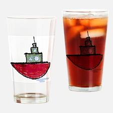 TUGBOATEE Drinking Glass