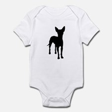xoloitzcuintli dog Infant Bodysuit