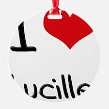 I Love Lucille Ornament