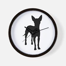 xoloitzcuintli dog Wall Clock