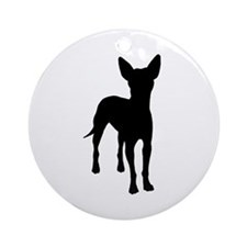 xoloitzcuintli dog Ornament (Round)
