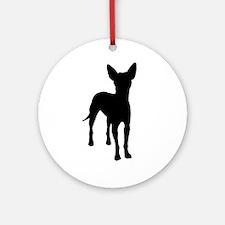 xoloitzcuintli dog Ornament (Round)