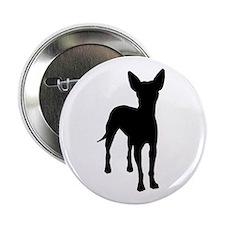 """xoloitzcuintli dog 2.25"""" Button (10 pack)"""
