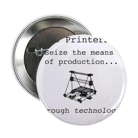 "3D Printer Revolution 2.25"" Button"