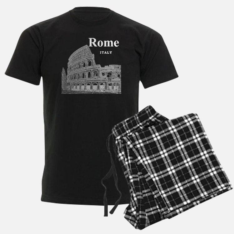 Rome_12X12_v2_White_Colosseum pajamas
