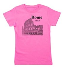 Rome_12X12_v2_Black_Colosseum Girl's Tee