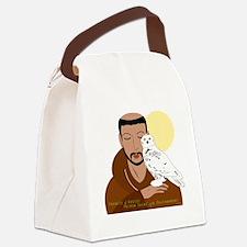 Saint Francis by Nancy Vala Canvas Lunch Bag