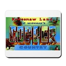 Copper Country Michigan Mousepad