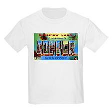 Copper Country Michigan T-Shirt