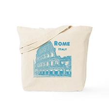 Rome_10x10_v1_Blue_Colosseum Tote Bag