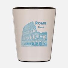 Rome_10x10_v1_Blue_Colosseum Shot Glass