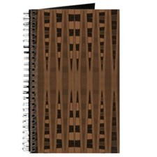 brown and black abstract pattern Journal