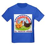 All American Breeds Kids Dark T-Shirt