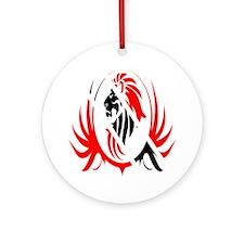 Iron Like Lion Trinidad Round Ornament