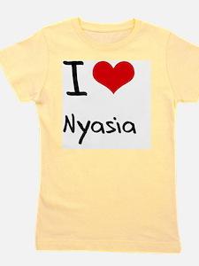 I Love Nyasia Girl's Tee
