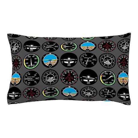 Flight Instruments Pillow Case