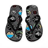 Aviation Flip Flops